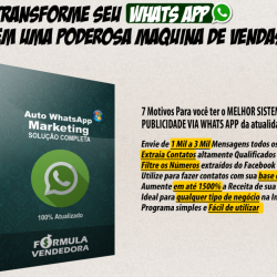 SOFTWARE AUTO WHATSAPP MARKETING 2018