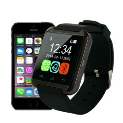 Relogio Smartwatch Bluetooth Smart Watch U8 Android Iphone 5 6 S5 Note Galaxy Moto X Smartphone